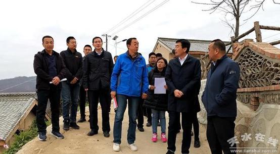 甘肃清水县接受天津市合作交流办东西部扶贫协作和对口支援工作第三方评估
