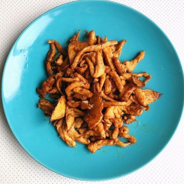 美食优选:青椒腊肉,酱爆平菇肉丝,肉末炖蛋的做法