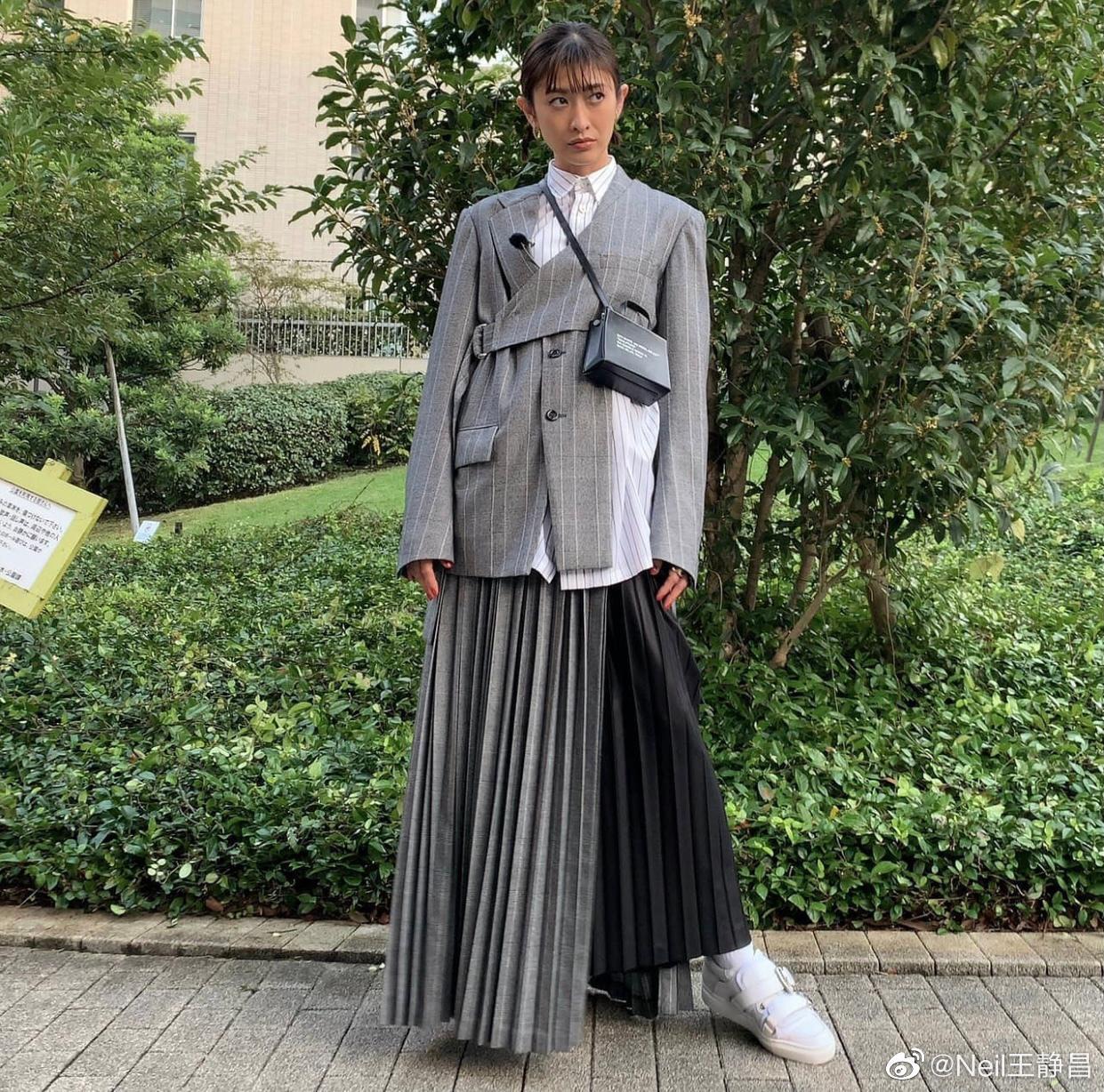 小栗旬妻子山田优也是个真正的时尚达人!