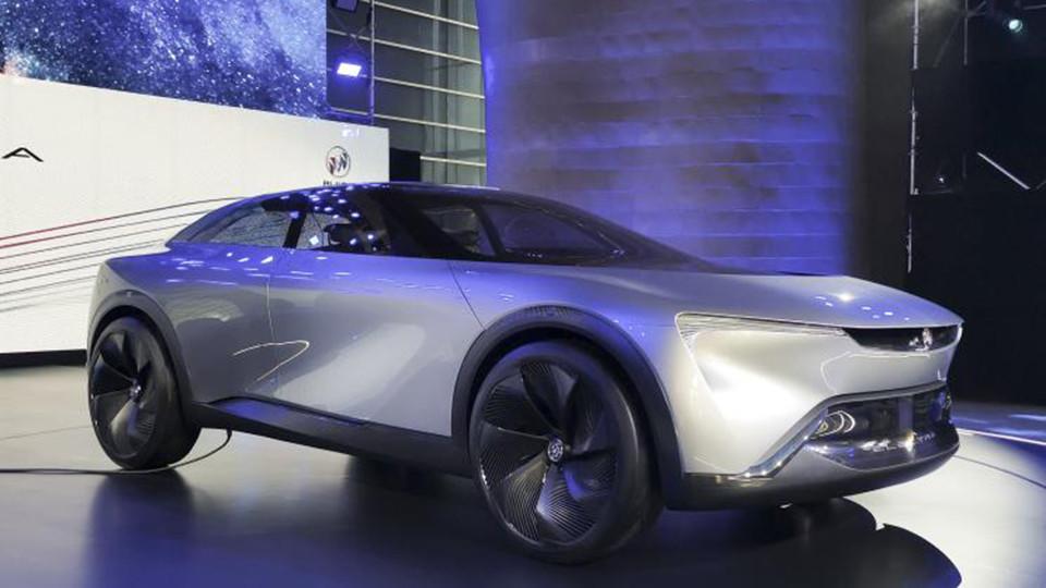 别克纯电概念车Electra将于广州车展首次亮相