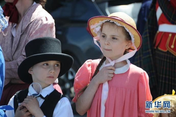 新西兰奥马鲁举行复古节_图片频道_新华网