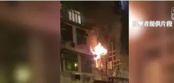 港媒:香港突发火灾,已致8人死亡图片