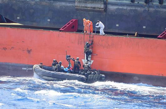 """海盗袭击""""振华7号""""商船,中国籍船员受枪伤图片"""
