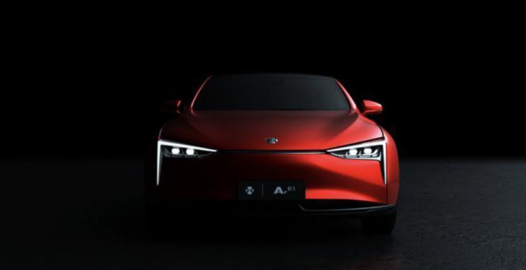 广汽蔚来全新概念车预告图发布,广州车展上正式亮相