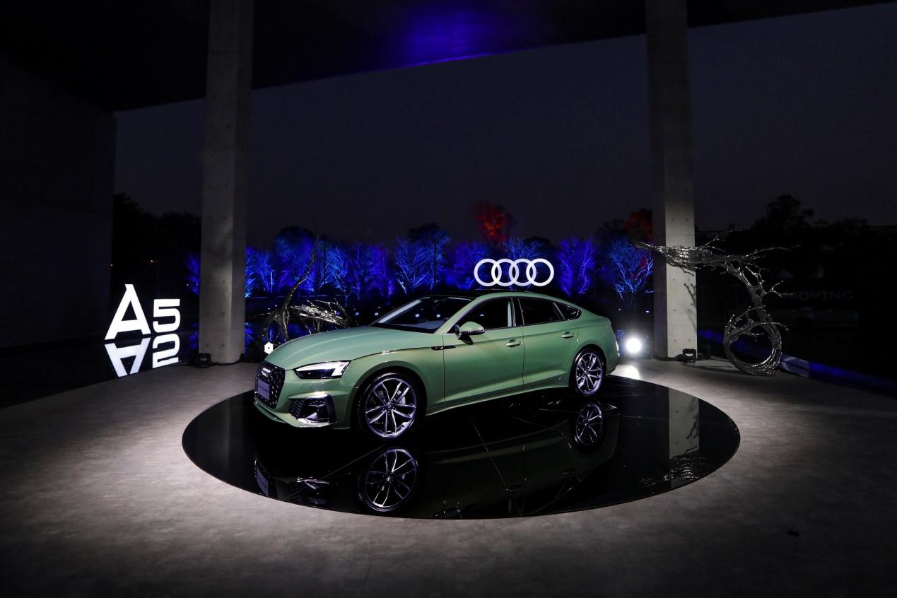 可运动可优雅,豪华B级轿跑之选,新奥迪A5家族37.18万起售