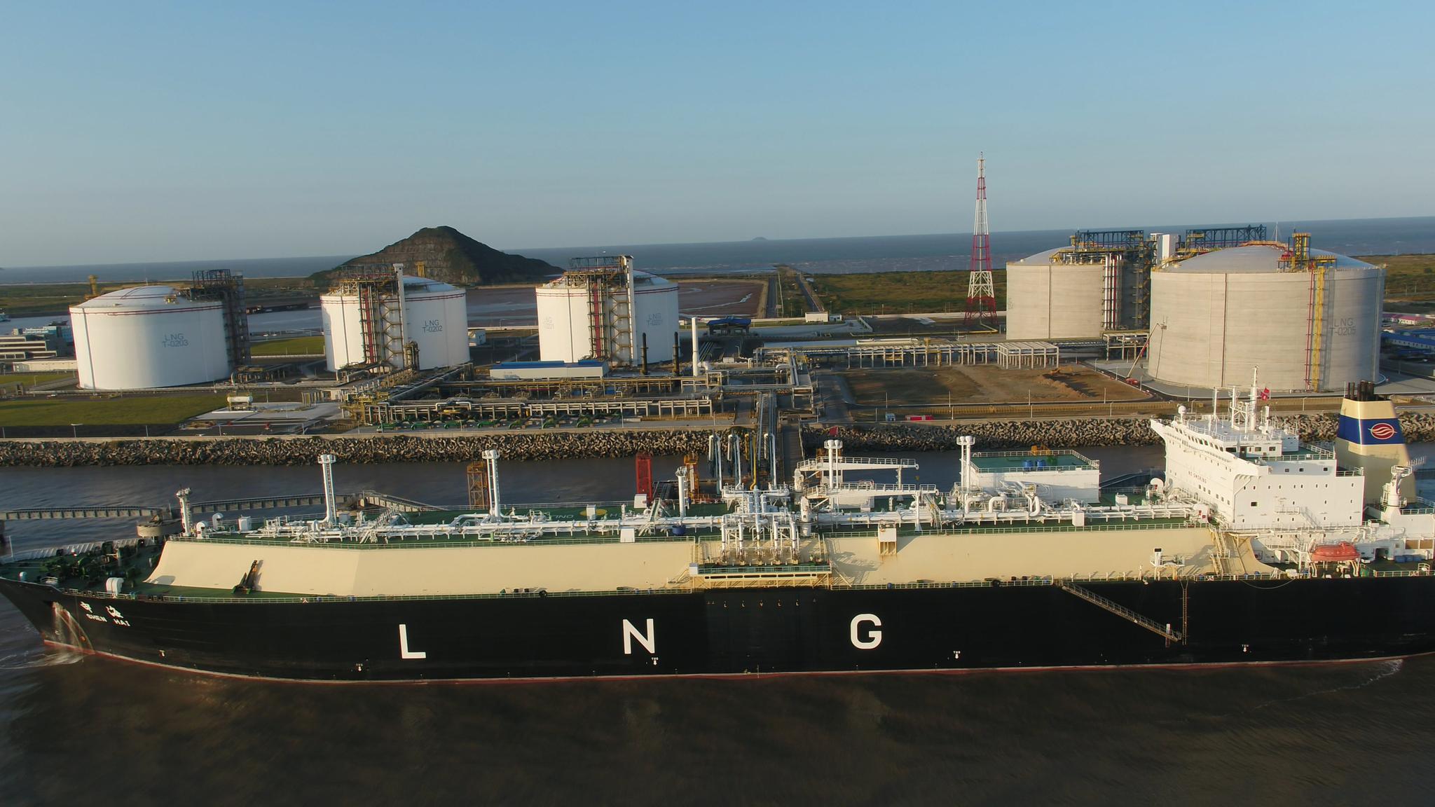 洋山LNG接收站扩容80% 全力保障上海今冬明春用气高峰图片