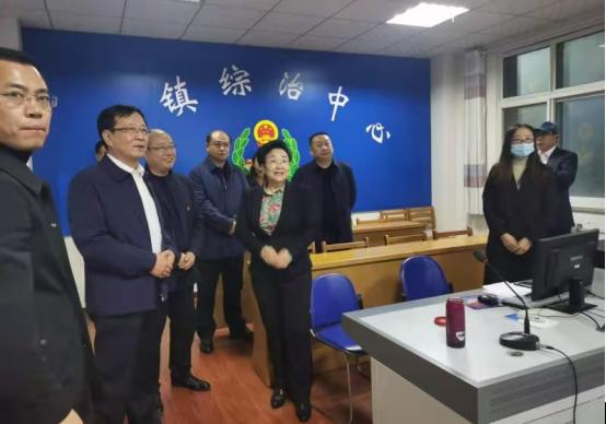 """沧州市委常委、组织部长王晓燕到泊头市就""""严细深实快""""作风教育和乡镇街道改革进行调研"""
