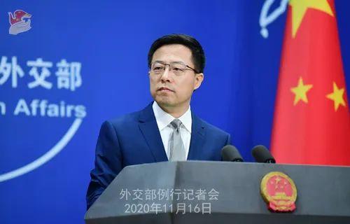 他要在剩余数周对中国强硬?外交部回应图片