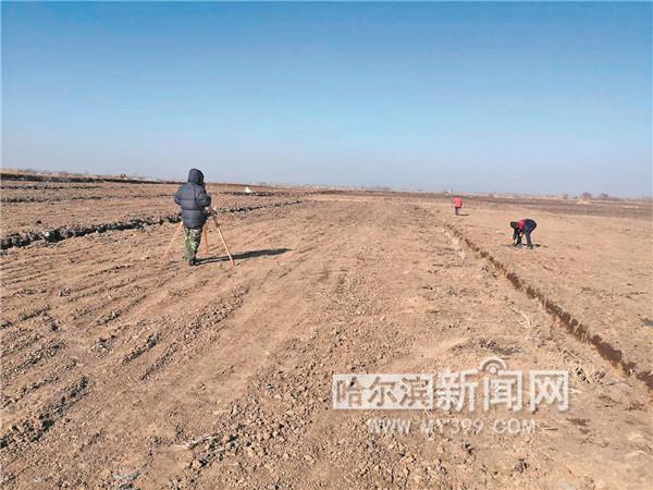 修建智能育秧棚 改造高标准稻田