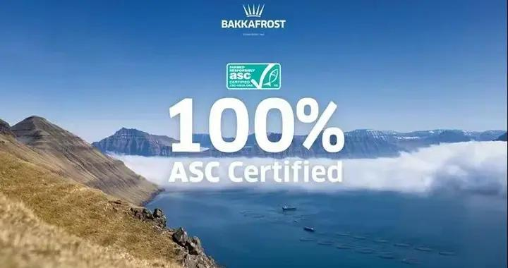 历时七年!法罗群岛所有Bakkafrost三文鱼渔场获得ASC认证