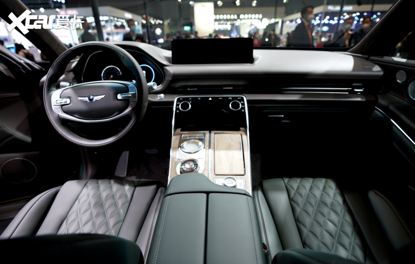 全新中大型SUV 捷尼赛思GV80将明年进口国内