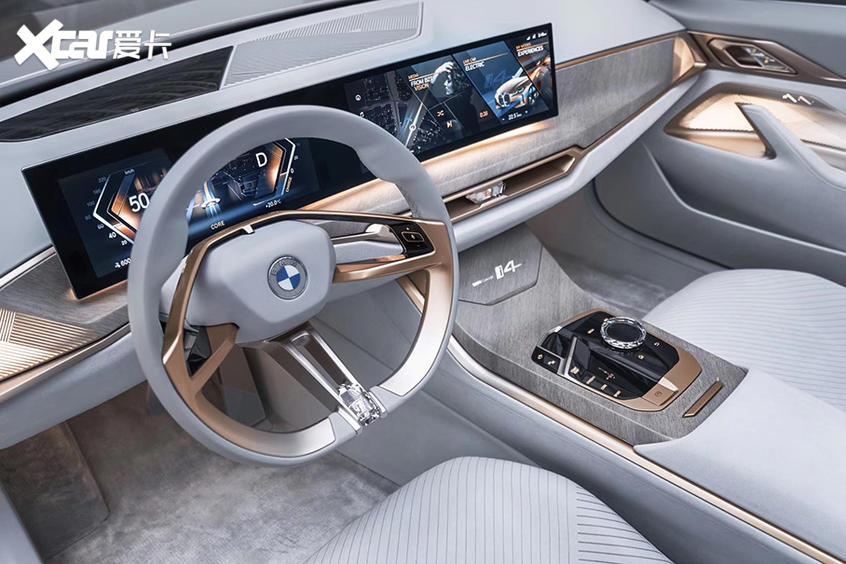 续航达600km 宝马i4将于明年量产上市