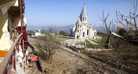 纳卡地区领导人:150具亚美尼亚军人遗体从战场运出