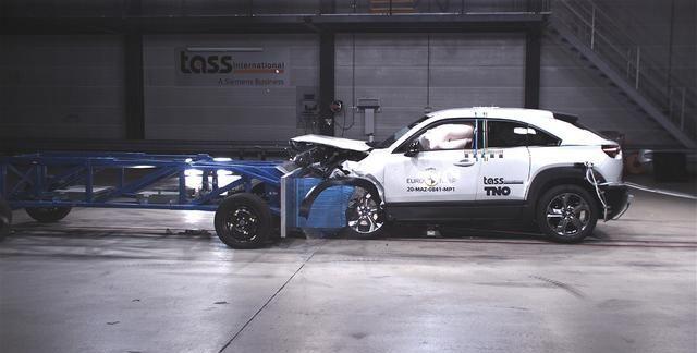 第四代本田飞度和马自达MX-30获得欧洲NCAP碰撞测试5星评级