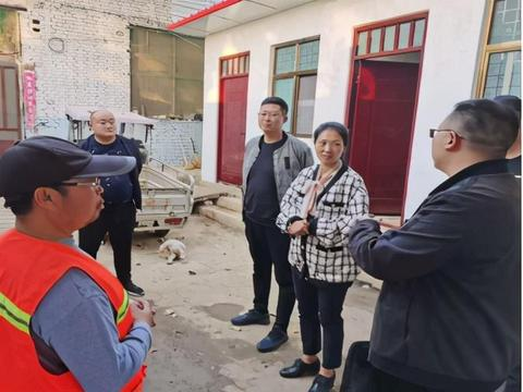市人大副主任郭斌到陆营镇调研指导脱贫攻坚及信访工作