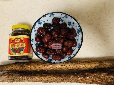 红楼美食:枣泥馅山药糕,手把手教你制作,冬天滋阴润燥就靠它了