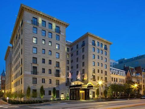 豪华酒店,总统会友和好莱坞之星为之着迷杰斐逊华盛顿特区酒店