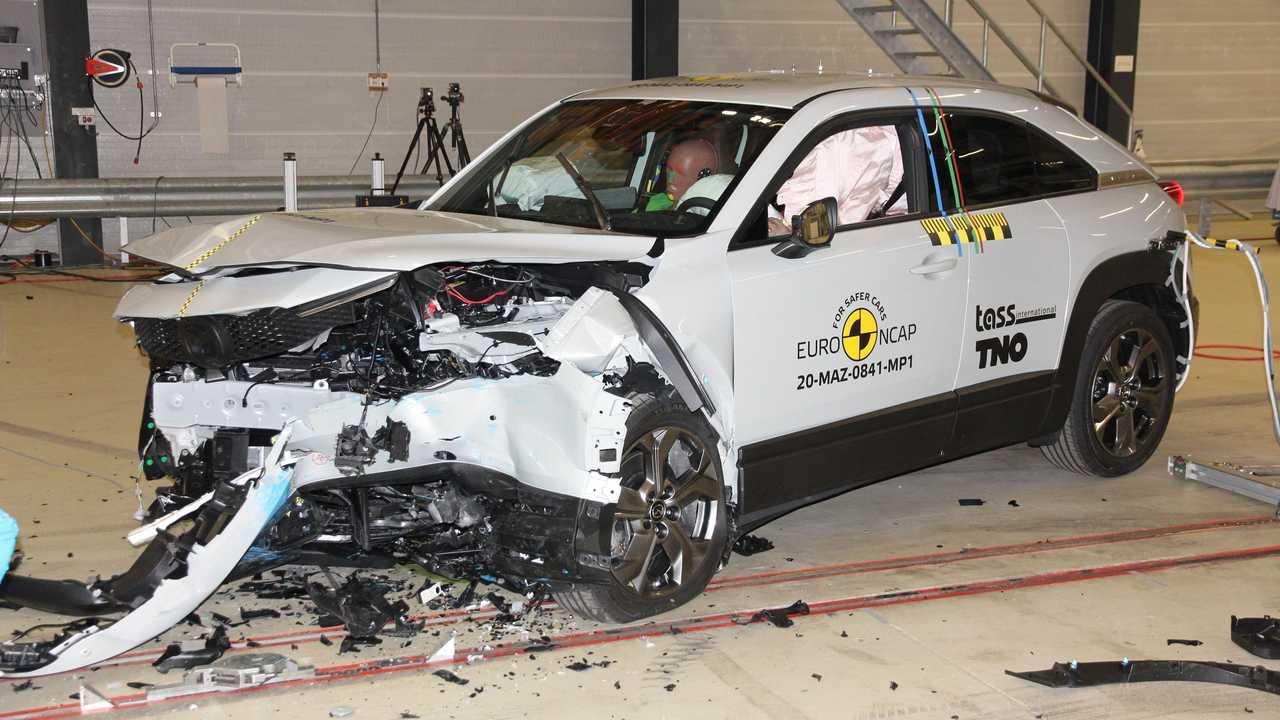 全新马自达MX-30获欧洲NCAP碰撞五星好评