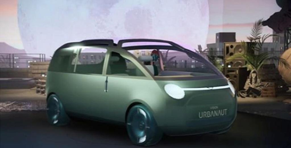 看起很奇特,MINI Vision Urbanaut预告图首次曝光