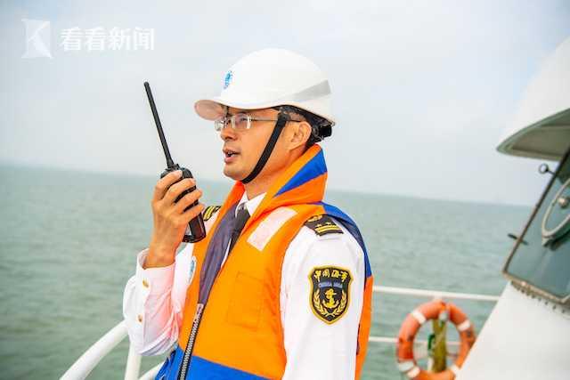 直击琼州海峡粤海火车轮渡海上应急救助综合演练图片