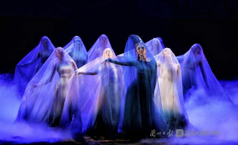 大型新创舞剧《问道崆峒》亮相金城