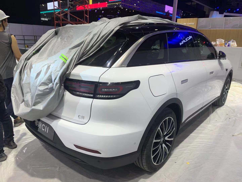 2020广州车展探馆 | 全新中型纯电SUV 零跑C11量产版亮相车展