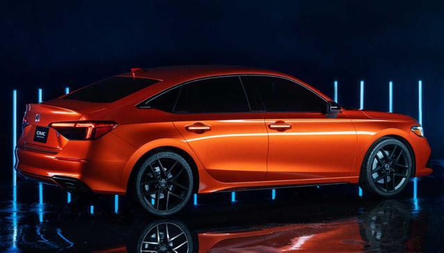 本田思域第11代原型车发布 拥有简约美学的设计语言