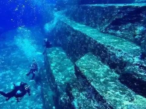 揭秘日本与那国海底遗址与史前巨石的秘密,棱角锐利的如激光切口