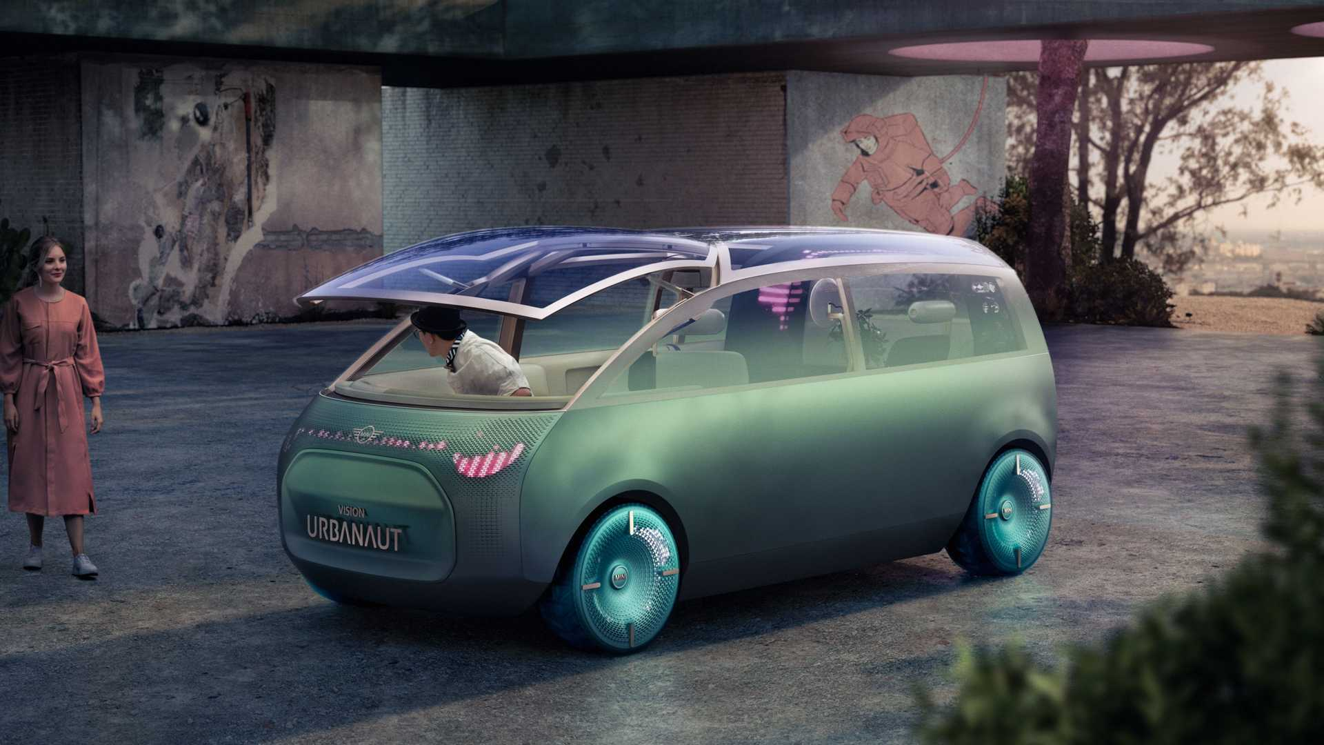 未来出行全新可能?MINI全新概念车官图曝出!
