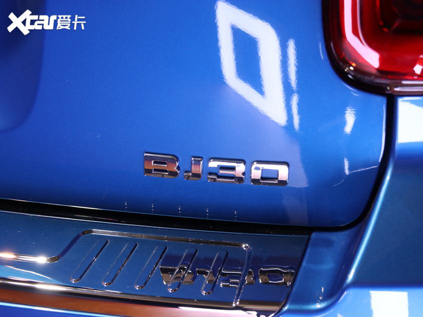 北京BJ30于11月18日预售 部分配置曝光