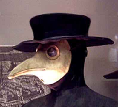令人毛骨悚然的瘟疫医生面具和服装背后的秘密