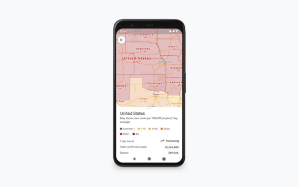 """谷歌地图新增""""新冠疫情""""图层:出行安全不只是堵车"""