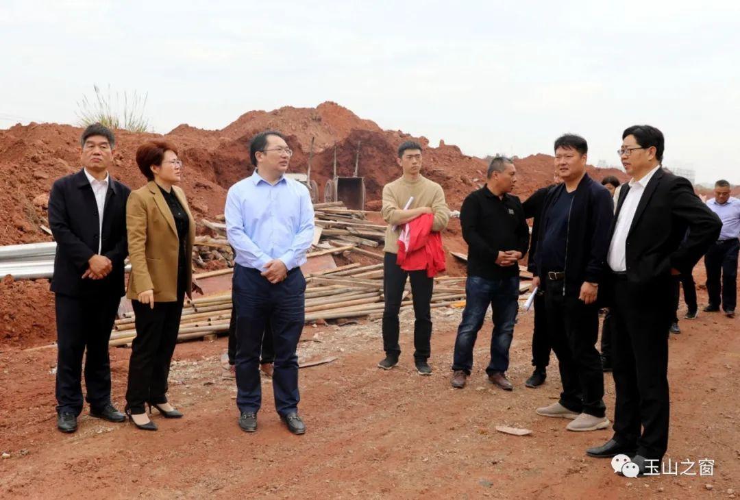 徐树斌调研2020年重点工业项目建设情况