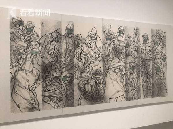 2020沪港澳台绘画联展亮相刘海粟美术馆