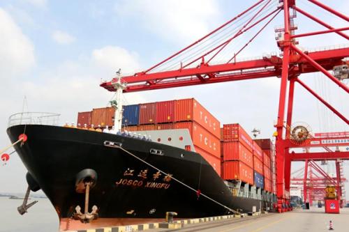 省港口集团货物吞吐量增长重新驶入快车道