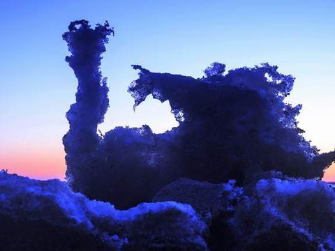 第20届中国平遥国际摄影展中华摄影报之《盘锦冰凌》