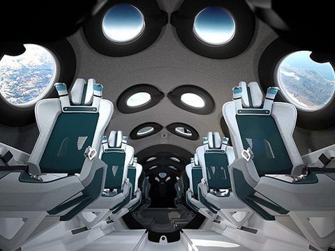 嘉合优品说设计:维珍银河公司展示了太空船2号的机舱内部
