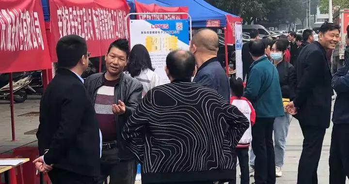 """衡南县人社局送岗位促退捕渔民变身""""工薪族"""""""