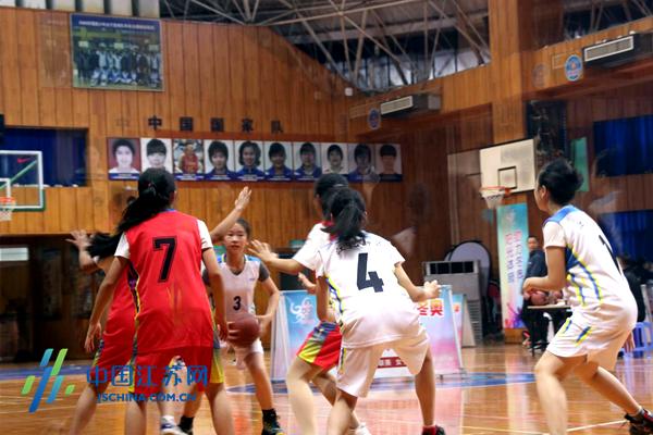 南京市青少年陽光體育節校園籃球3V3聯賽女子組開賽圖片