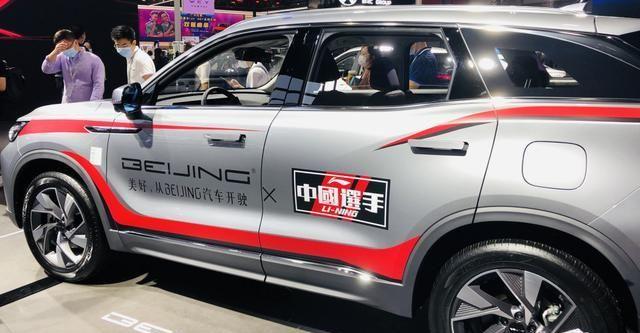 2800mm的轴距赶超瑞虎7,北汽X7亮相广州车展,网友:中国选手!