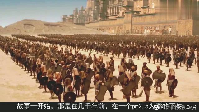 奇幻片:男主天生神力,一伸手卷起千层巨浪,追得敌人只能逃跑!
