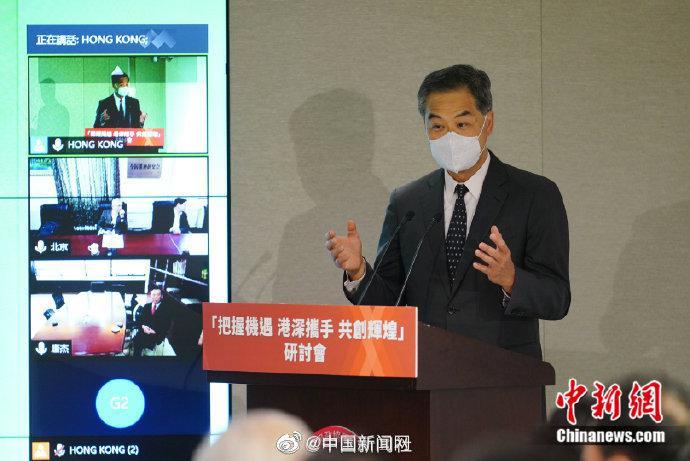 梁振英:香港要用好深圳在新形势下带给香港的机会