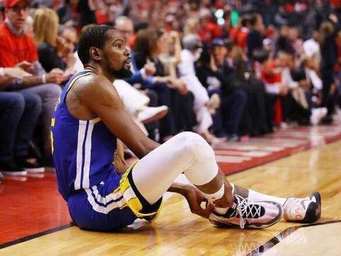杜兰特跟腱断裂、克莱伤愈后再伤、库里左手骨折、詹姆斯腹股沟伤