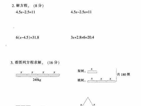 五年级上册数学第五单元测试卷有答案,掌握本单元知识很重要