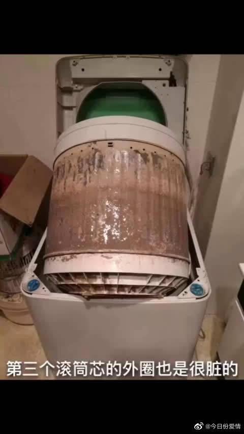 滚筒洗衣机长时间不清洗太吓人