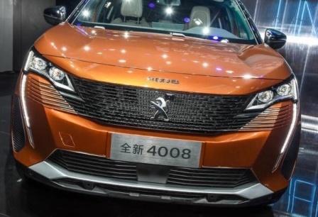 广州车展首发车推荐:新款标致4008亮相