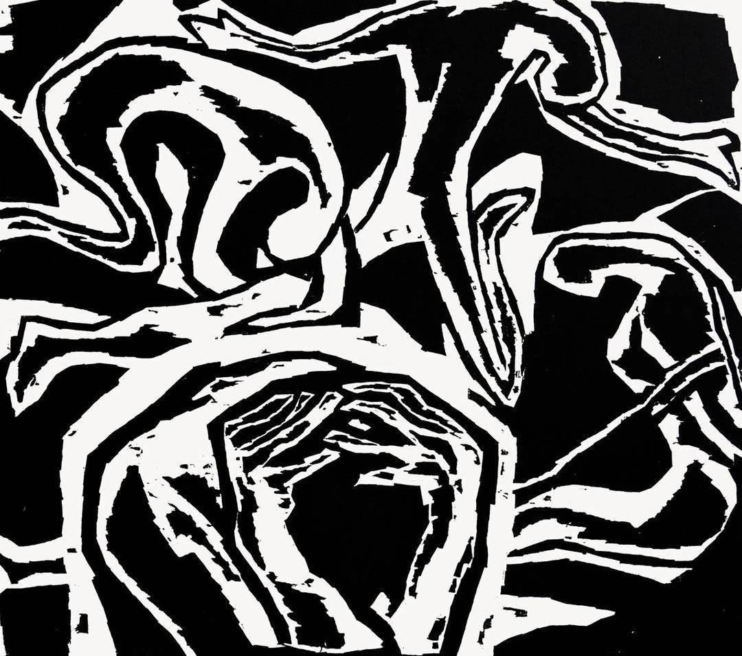 """""""这组版画花了我30年时间,但这是出于艺术创作的需要""""——版画家程勉谈""""南京大屠杀""""木刻组画"""