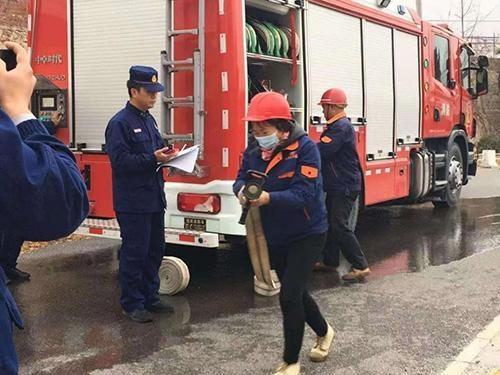 平谷区金海湖镇加强企业消防安全培训