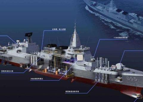 火控雷达加隐身,攻防兼备的海上精英