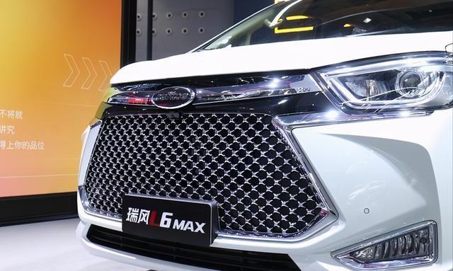广州车展实拍 江淮瑞风L6 MAX